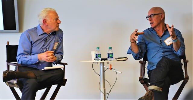 John Windsor and Mike Tushman