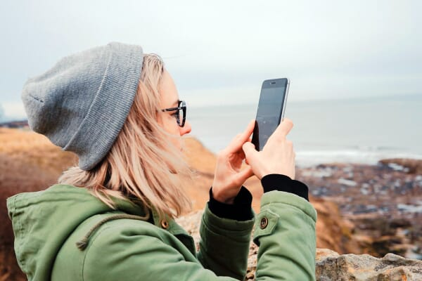 Snapping Photos Outdoors