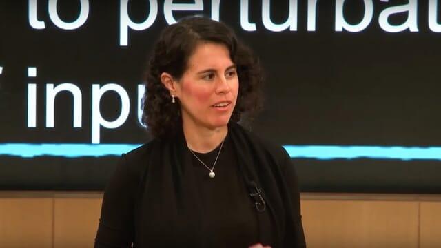 Kathryn Hume presenting