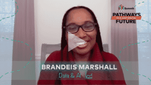 Thumbnail for Brandeis Marshall on the potential for data equity.